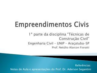 Empreendimentos Civis