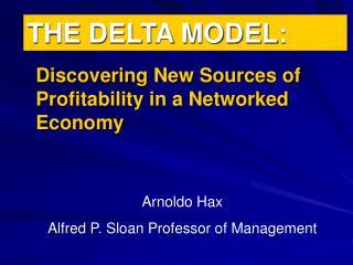 THE DELTA MODEL: