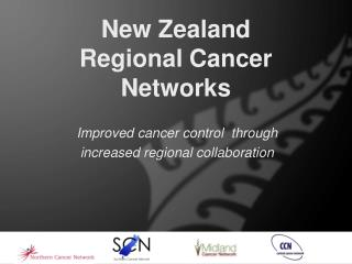 New Zealand  Regional Cancer Networks