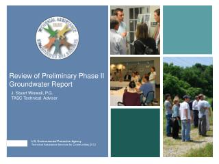 Review of Preliminary Phase II Groundwater Report