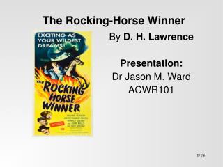 The Rocking-Horse Winner