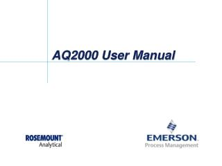 AQ2000 User Manual