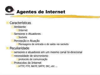 Agentes de Internet