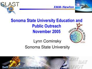 Sonoma State University Education and Public Outreach November 2005