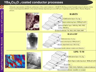 YBa 2 Cu 3 O  7  coated conductor processes