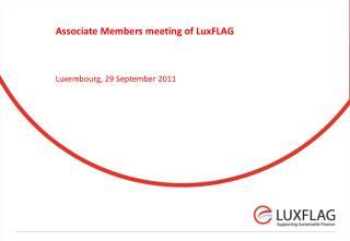 Associate Members meeting of  LuxFLAG
