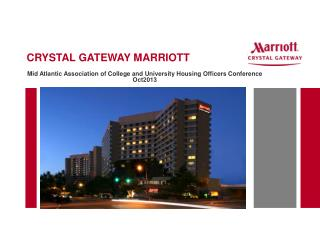 CRYSTAL GATEWAY MARRIOTT
