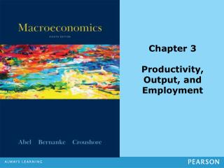 Chapter 3 Productivity, Output, and Employment