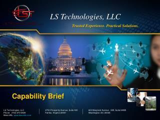 LS Technologies,  LLC