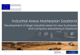 Industrial Areas Masterplan Saarland