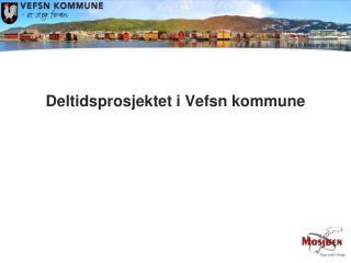 Deltidsprosjektet i Vefsn kommune