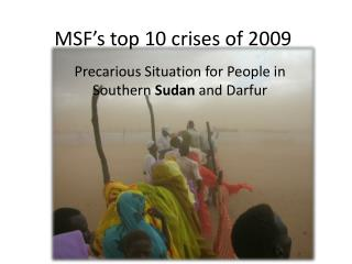 MSF's top 10 crises of 2009