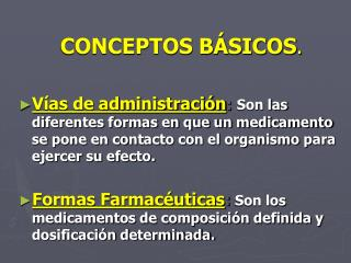CONCEPTOS B SICOS.