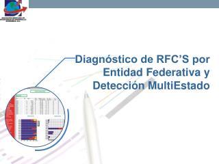 Diagnóstico de RFC'S por Entidad Federativa y Detección MultiEstado