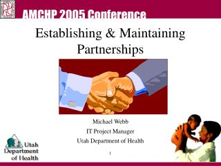 Establishing & Maintaining Partnerships