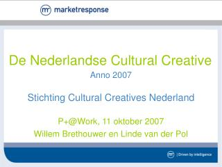 De Nederlandse Cultural Creative