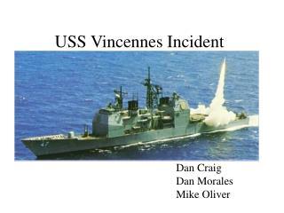 USS Vincennes Incident