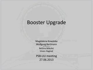 Booster Upgrade