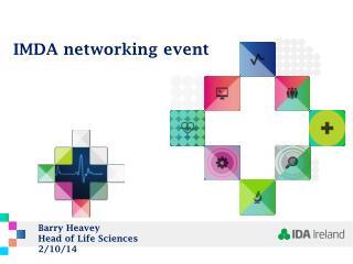 IMDA networking event