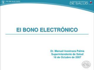 El BONO ELECTR�NICO