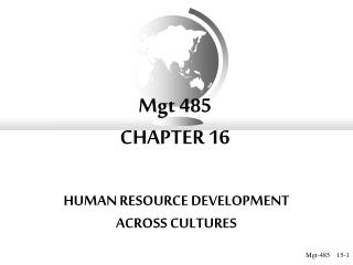 Mgt 485 CHAPTER 16