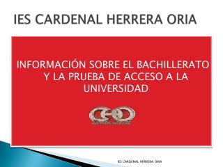 IES CARDENAL HERRERA ORIA