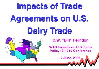 Impacts of Trade Agreements on U.S. Dairy Trade