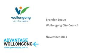 Brenden Logue Wollongong City Council November 2011