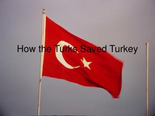 How the Turks Saved Turkey