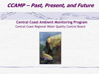 Central Coast Ambient Monitoring Program