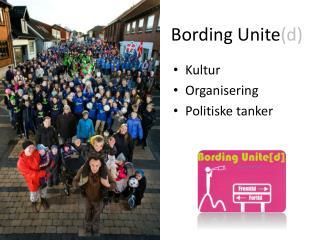 Bording  Unite (d)