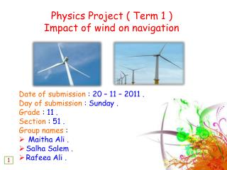 Date of submission  : 20 – 11 – 2011 .  Day of submission  : Sunday . Grade  :  11 .