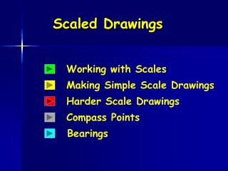 Scaled Drawings