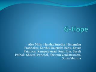 G-Hope