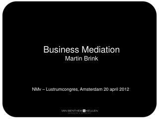 Business  Mediation Martin Brink