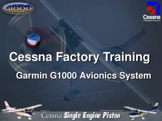Garmin G1000 Avionics System