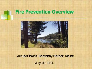 Juniper Point, Boothbay Harbor, Maine