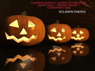 Lawrence Solomon Solamon Energy Scam Safety News  Solamon En