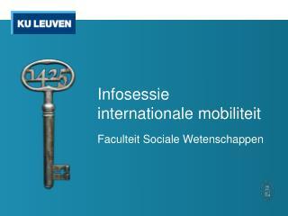 Infosessie  internationale mobiliteit