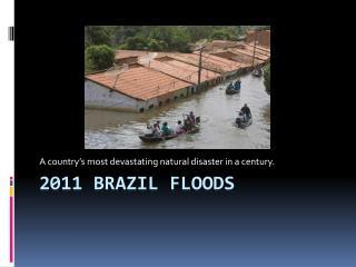2011 brazil floods