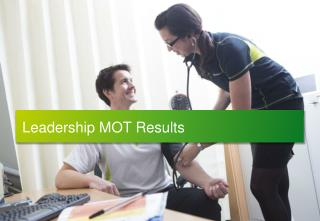 Leadership MOT Results