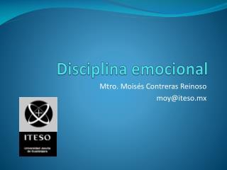 Disciplina emocional