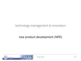 technology management & innovation