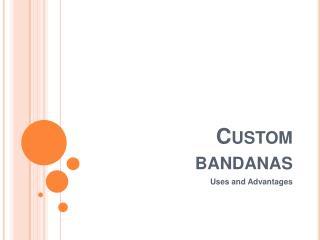 Custom Bandana, Wholesale Bandana, Personalized Bandana