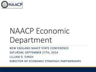 NAACP Economic Department
