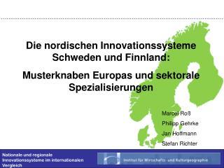 Nationale und regionale Innovationssysteme im internationalen Vergleich