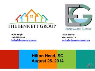 Holly  Knight 202-699-1998 holly@thebennettgrp