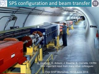 SPS configuration and beam transfer