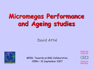 Micromegas Performance and Ageing studies