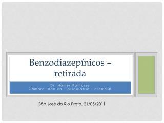 Benzodiazep nicos   retirada